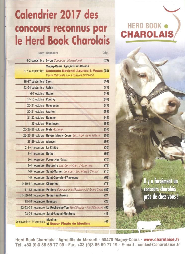 Kalender keuringen in Frankrijk